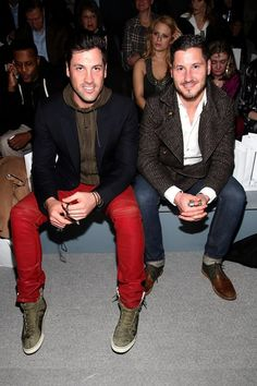 Maks and Val Chmerkovskiy... I've always had a thing for the Russian men - I think we can see why...
