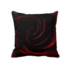GOTHIC ROSE THROW PILLOWS