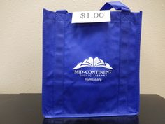 "Looking for a good ""medium"" sized bag?  MGC has you covered! Come by our Information Desk and purchase this bag for a $1."