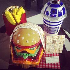 Star Wars meets fast food #packaging.