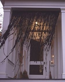 halloween decorations, halloween parties, curtains, lawn ornaments, black, bags, outdoor halloween, front porches, easi cheap