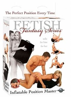 Fetish Fantasy Inflatable Position Master - Indulge yourself in your wildest fantasies with the Fetish Fantasy Inflatable Position Master. The slanted and flocked design allows you to relax in any position without sliding off.
