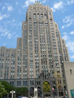 Fisher Building in Detroit, Michigan...Albert Kahn, architect designed with Mayan influences...incredible!