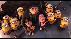 Despicable Me. Such a cute movie!