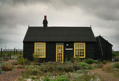 Yellow Black house