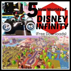 Disney Infinity Releases 5 New Toy Box Worlds #DisneyInfinity