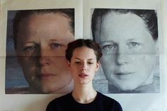 Thomas Lohr photographs Hanna Putz for Freunde von Freunden
