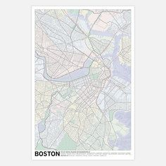 Boston Poster, $21, now featured on Fab.