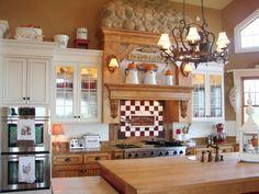 river rocks, beauti kitchen, kitchen decor, sugar pie, farms, farmhouse, cozy kitchens, pie farmhous, farmhous kitchen