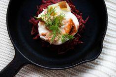 beet & potato latkes :: my blue&white kitchen