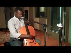 Cello Beatboxing by Kevin Olusola in CPR's Performance Studio. #Music #Beatboxing #Cello