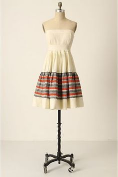 Around the World Dress #AnthrFave #anthroarchives #Anthropologie