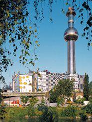 District Heating Plant    1988-1992    Spittelauer Lände 45, 1090 Vienna, Austria
