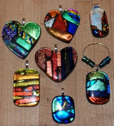 Glass Pendants by Laura Brownfield~beautiful!