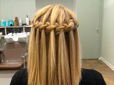 A Waterfall Braid How-To