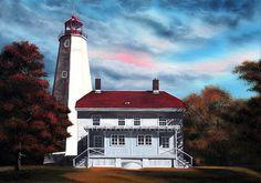 Daniel Carvalho, Sandy Hook Lighthouse