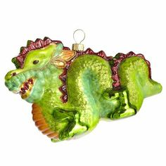 Beautiful Green Dragon Ornament - Ornament Reviews