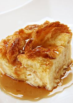 Croissant Bread Pudding.