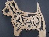 west highland terrier trivet 23.5o euros