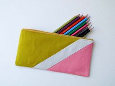 pencil/makeup cases great DIY for christmas gifts