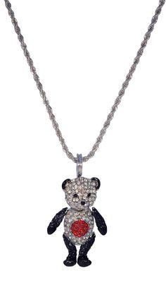 Panda Necklace by Soho Hearts Would match my panda shirt!