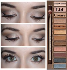 """5 Urban Decay """"Naked 1"""" Palette Looks!"""