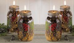 Lots of mason jar gifts. Pretty neat photos