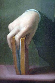From portrait of a Young Man  Bronzino (Agnolo di Cosimo di Mariano)  (Italian, Monticelli 1503–1572 Florence)