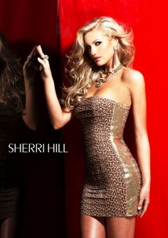 Sherri Hill 2768 maybe not for prom, but I loveeee this dress!!! #sherrihillstyle