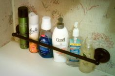 RV Bathroom Organization Idea