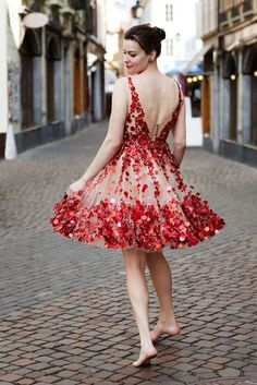 Gorgeous dress for Valentine's Day