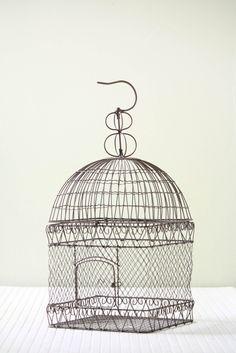 Hanging Metal Bird Cage