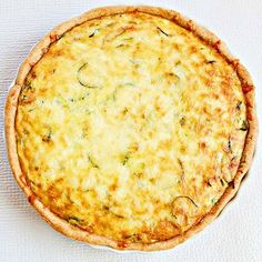 Zucchini quiche - I'm not a huge fan of zucchini but this is fantastic!