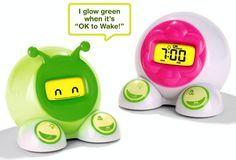 OK to Wake! Children's Alarm Clock and Nightlight... I need one of these!