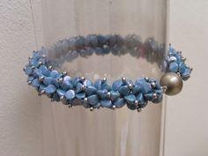 Pinch beads bracelet