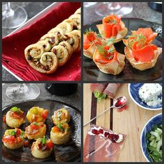 Appetizers, Hors D'Oeuvres, & Cocktails (14 recipes)