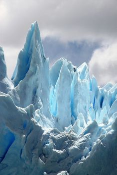 Mother nature crying glacier