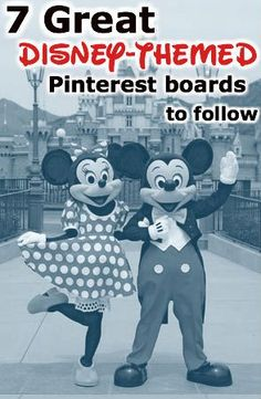 From food to secrets, the best Disney-themed boards to follow for all you DisFreaks.