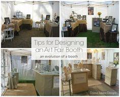 jewelri display, display inspir, donna sauer, art fair, design tips, fair booth, sauer design