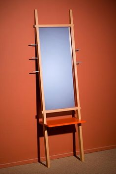 hall mirror and coat stand
