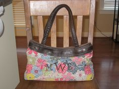 My Thirty-One Skirt Purse!  Go here, www.mythirtyone.com/MWetsel, to get one for yourself!