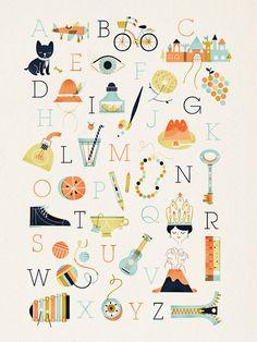 cute alphabet prints!