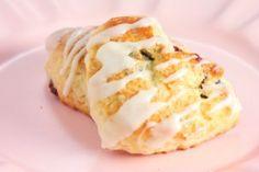 Lemon cherry scones-for teatime