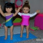 Doll Play Day 26 - Make a Folding Gymnastics Mat for your Dolls
