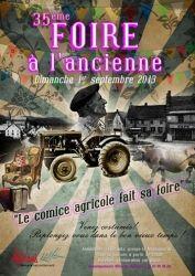 35ème Foire à l'ancienne, Autrans, Rhône-Alpes