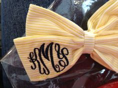 games, little girls, girl gifts, bow ties, children, daughters, hair bows, black, monogram bow