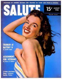 Salute - Marilyn Monroe Magazine