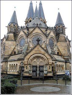 Protestant church / ev.  Ringkirche Wiesbaden, Germany