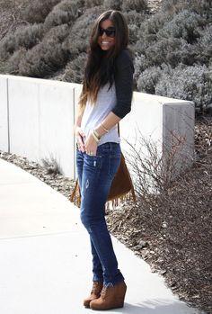 Fall / Casual Jeans n Tee
