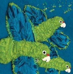Parrots over Puerto Rico by Susan Roth & Cindy Trumbore. The Horn Book review. To reserve: http://search.westervillelibrary.org/iii/encore/record/C__Rb1589624__Sparrots%20over%20puerto%20rico__Orightresult__U__X7?lang=eng&suite=gold